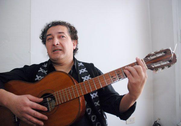 Antonio Martínez se presentó en La Pampa