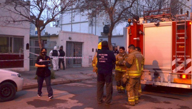 Incendio fatal: el hombre que murió secaba la ropa con un horno de cocina