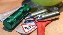 preocupa el alto consumo de la droga gas de la risa