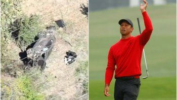 Drama: Tiger Woods sufrió un grave accidente