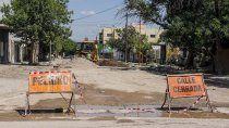 en 48 horas colocaran el asfalto que reclamaban vecinos del don bosco