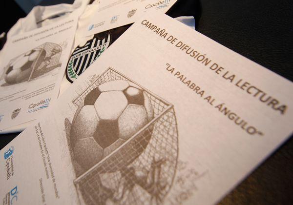 La literatura se fusiona con el fútbol