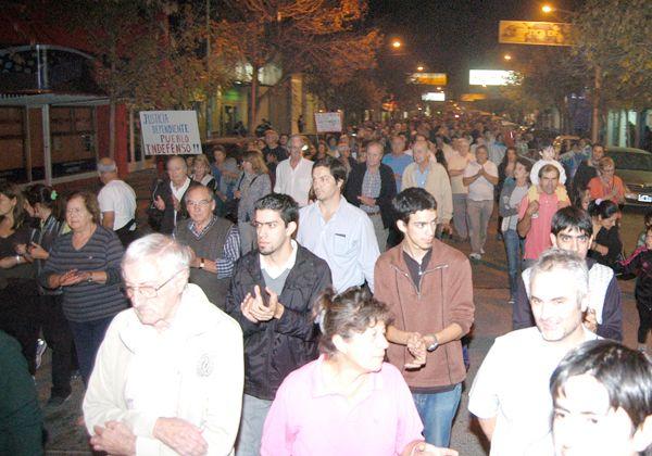 Nutrida marcha anti-K por las calles cipoleñas