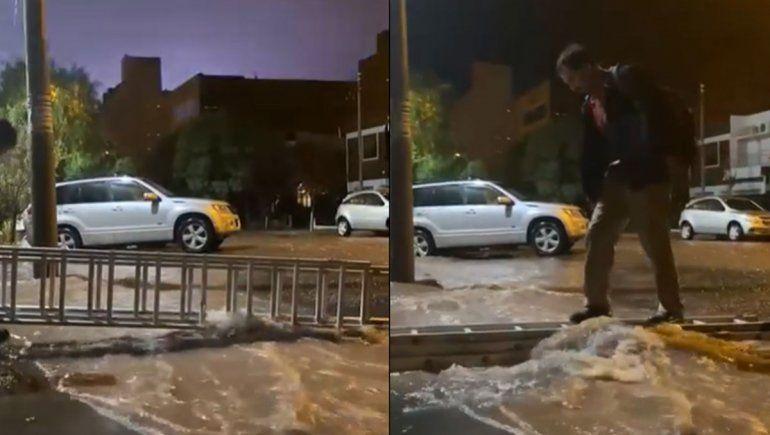 Imágenes: así golpeó la tormenta a Neuquén