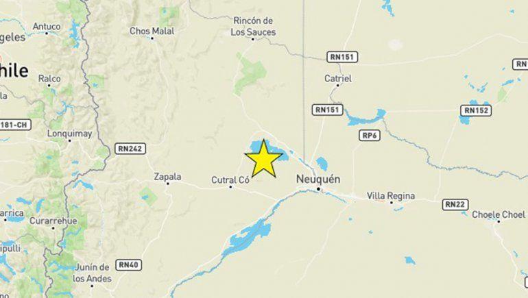 Confirman un sismo de 4.2 en la región