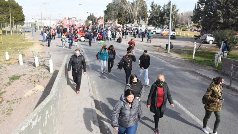 Manifestantes levantaron los cortes en los puentes