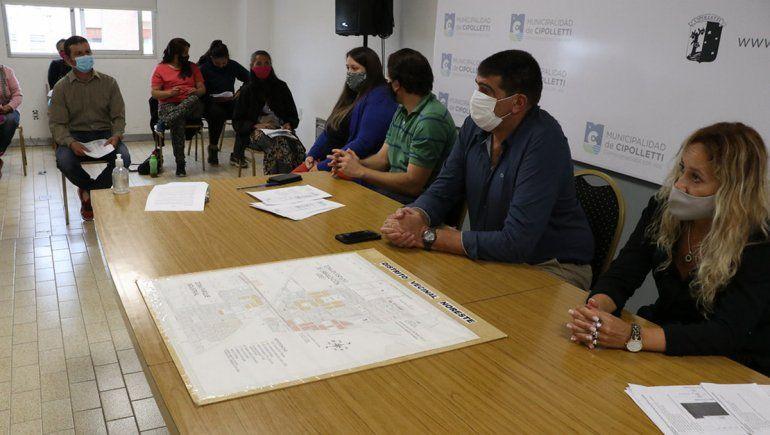 Familias cipoleñas darán el puntapié inicial al programa Construyendo juntos