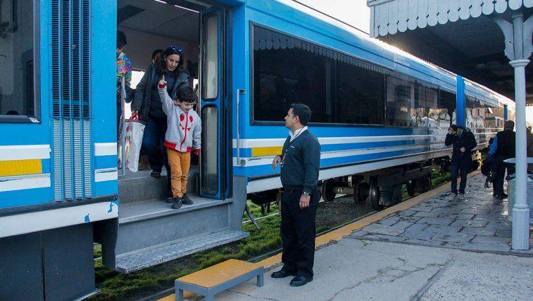 Vuelve a funcionar el Tren del Valle en Cipolletti