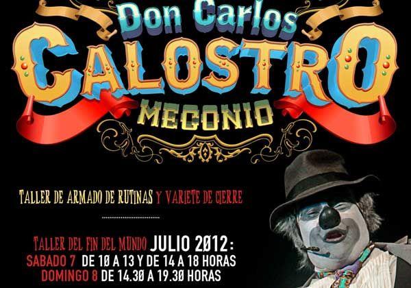 Show de clown en La Caja Mágica