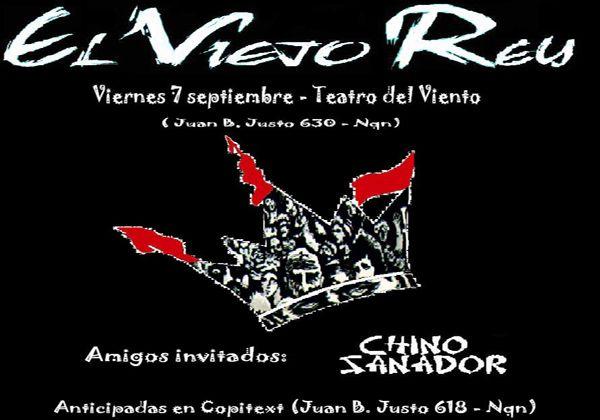 """La banda cipoleña """"El Viejo Rey"""" toca en Neuquén"""