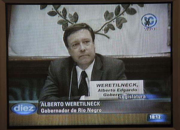 Weretilneck da inicio a un nuevo período de sesiones en la Legislatura