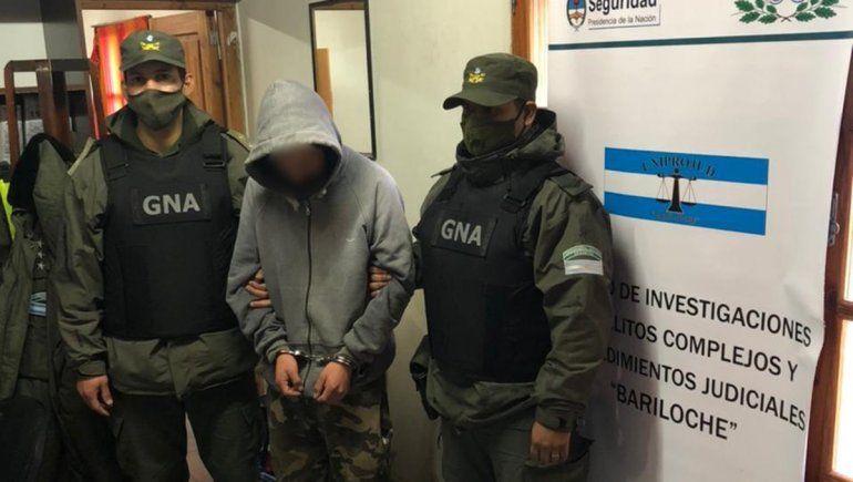 Gendarmería recapturó a un rionegrino prófugo de la justicia