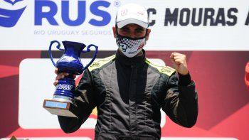Valentín Jara sumó su segundo podio del año.