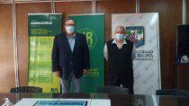 El presidente del IPROSS, Alejandro Marenco se reunió con el intendente de Villa Regina, Marcelo Orazi.