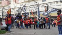 el polo obrero marcho en reclamo de asistencia a barrios populares