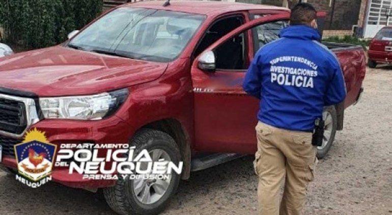 Recuperaron una camioneta de alta gama que fue robada