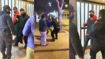 comerciantes detenidos denunciaron a la policia