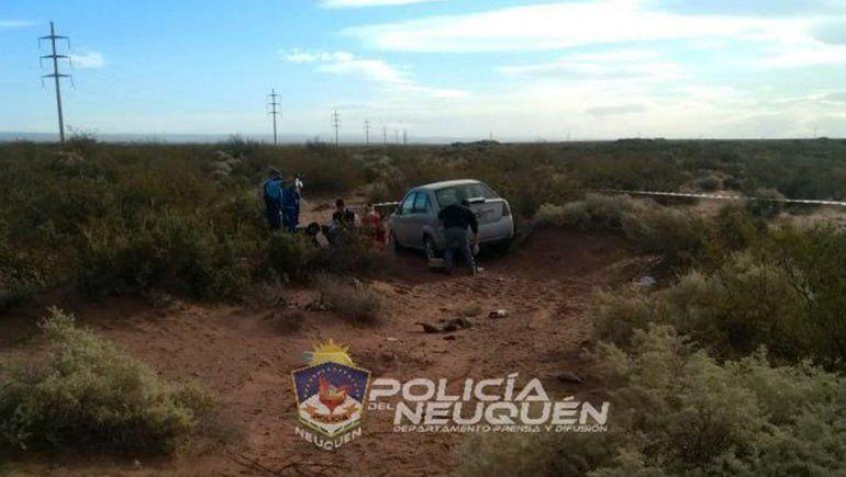Un hombre murió tras despistar de la Ruta 7 en Añelo