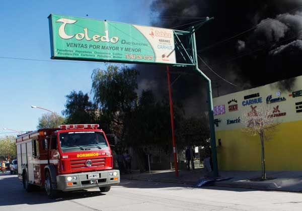 Incendio generó alarma en el barrio Don Bosco