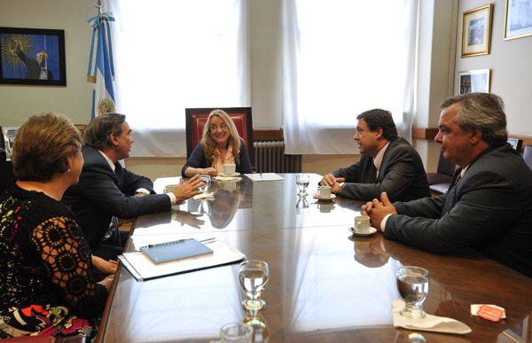 Weretilneck analizó políticas sociales con Alicia Kirchner