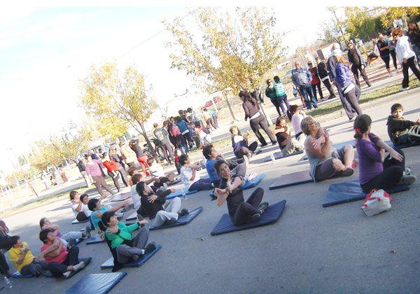 Celebraron el Día Mundial de la Salud y la Actividad Física