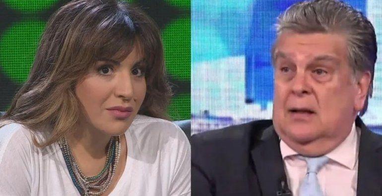 Gianinna Maradona demandó a Luis Ventura por hostigamiento