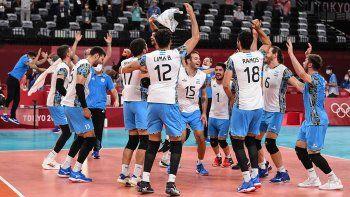 Argentina semifinalista en vóley: el emocionante relato de José Montesano