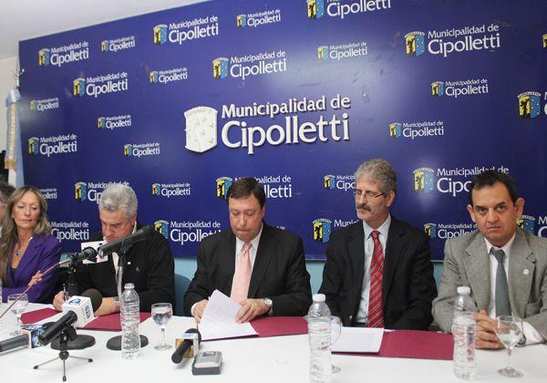 Se firmó el convenio para la construcción de la Ciudad Judicial en Cipolletti