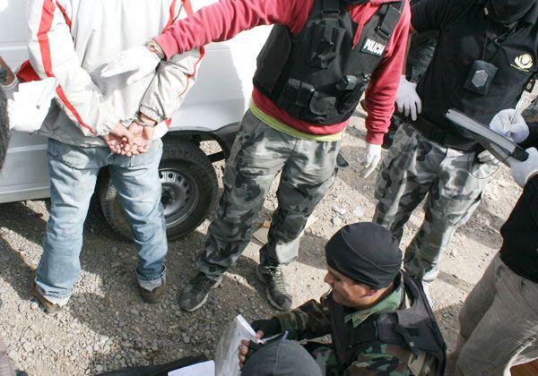 Hoy empezarían a indagar a los detenidos por drogas