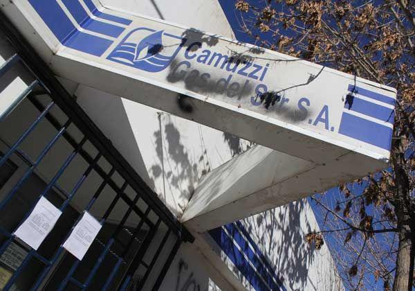 Se profundizan las medidas de fuerza en Camuzzi
