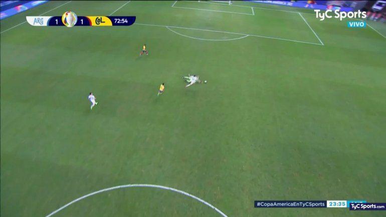 El increíble gol que erró Lautaro y el insulto de De Paoli a... ¡Di María!