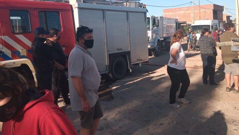 Se incendió otra vivienda en el Barrio Obrero A