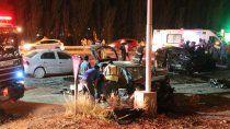 centenario: choque multiple dejo cuatro heridos de gravedad