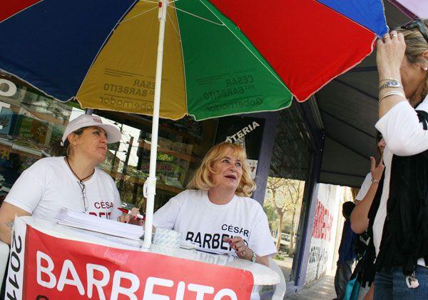Barbeito cierra campaña proselitista
