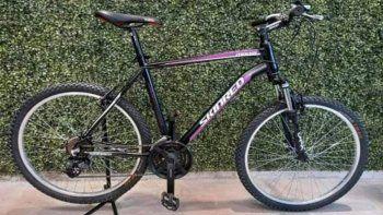 busco y pago para recuperar la bici que le habian robado