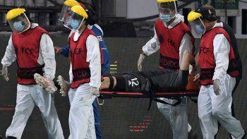 La impresionante caída que mandó al Hospital al arquero de la Selección