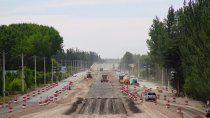 retoman las obras de la ruta nacional 22 entre cipolletti y godoy