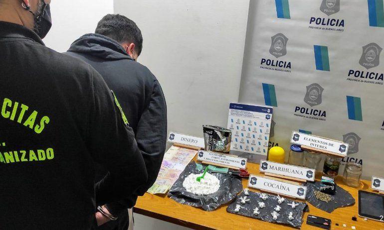 Detenido por utilizar a un niño para comercializar droga