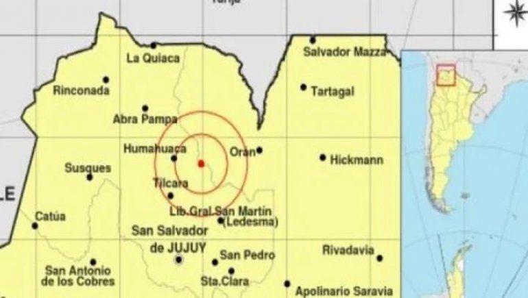 Sismo de 6.1 sacudió la provincia de Salta