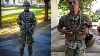 dos soldados cipolenos pelean por su vida tras un choque en neuquen