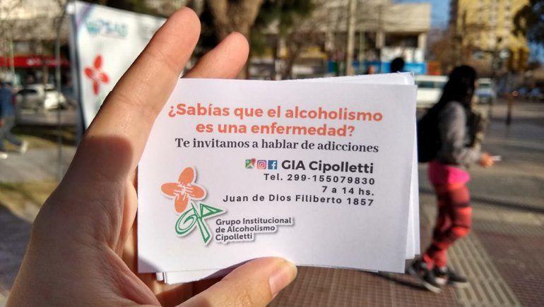 Ayuda a personas con problemas de alcohol a pesar del virus