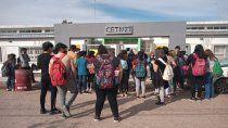 estudiantes tomaron un colegio en contra de las clases plenas