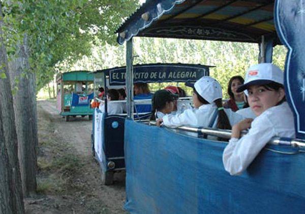 """""""Tren tecnológico"""" en la Expofrutícola 2009"""