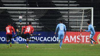 El cipoleño lo tiene de hijo al Rojo: otro gol de Del Prete por la Copa