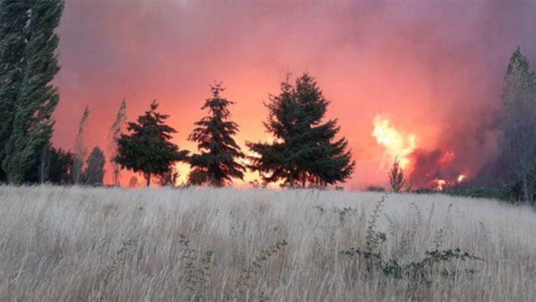 Desesperante: hay 12 desaparecidos en la zona de los incendios