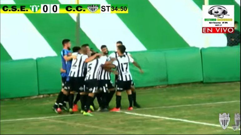 Tres de tres: Cipo ganó en San Luis con gol de Zárate