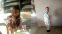 una nina fue asesinada y la encontraron en un descampado