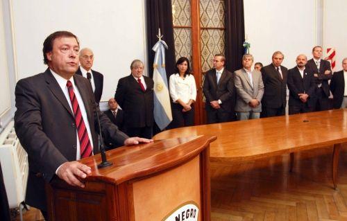 Weretilneck dio su visión sobre quién debería quedar al frente de la Comisión Anti Impunidad