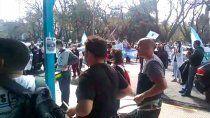 hospitalarios se movilizaron en viedma y van por mas