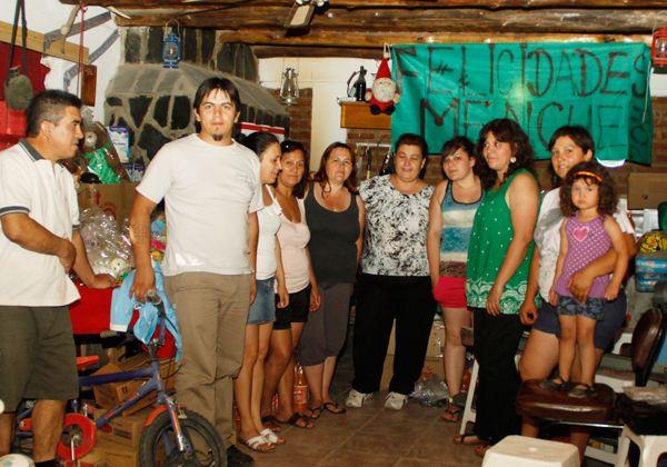 Solidaridad cipoleña, hacia Mencué